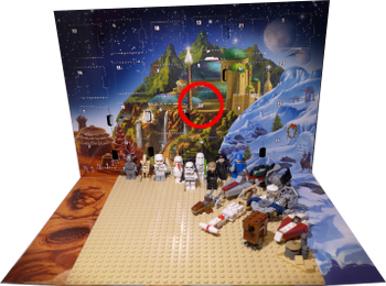 [Bild: Lucka 22: LEGO Star Wars Adventskalender 75146]