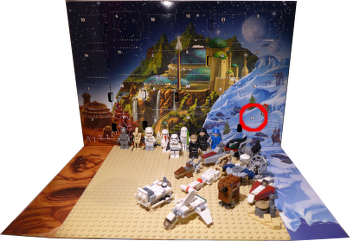 [Bild: Lucka 24: LEGO Star Wars Adventskalender 75146]