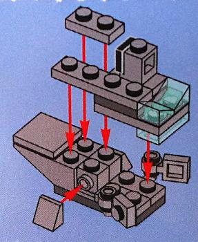 [Bild: LEGO Star Wars Adventskalender 75184. Lucka nr 6]