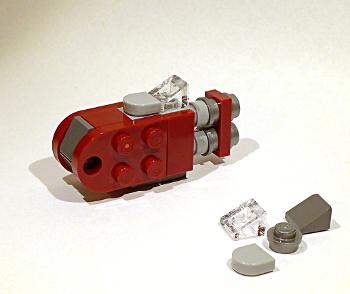 [Bild: LEGO Star Wars Adventskalender 75184. Lucka nr 9]