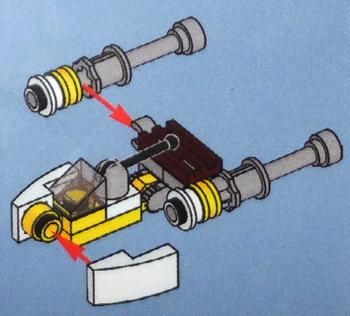 [Bild: LEGO Star Wars Adventskalender 75184. Lucka nr 18]