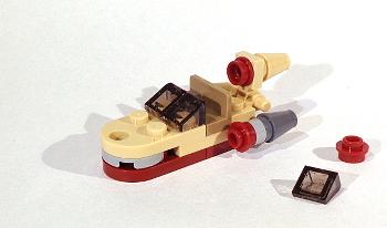 [Bild: LEGO Star Wars Adventskalender 75213. Lucka nr 1]
