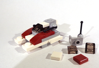 [Bild: LEGO Star Wars Adventskalender 75213. Lucka nr 4]