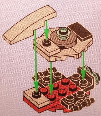 [Bild: LEGO Star Wars Adventskalender 75213. Lucka nr 3]