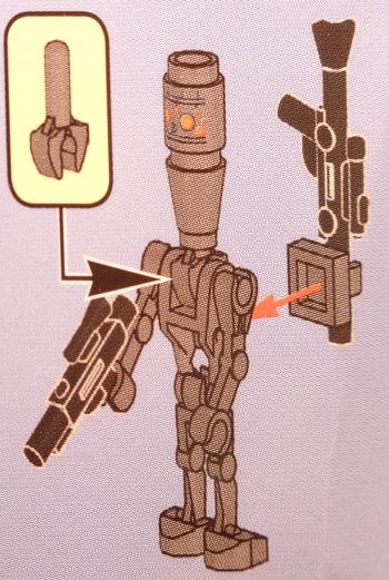 [Bild: LEGO Star Wars Adventskalender 75213. Lucka nr 5]