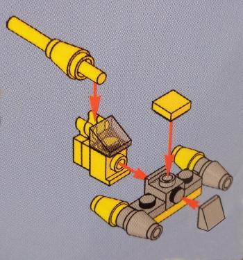 [Bild: LEGO Star Wars Adventskalender 75213. Lucka nr 7]