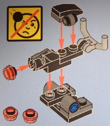 [Bild: LEGO Star Wars Adventskalender 75213. Lucka nr 10]
