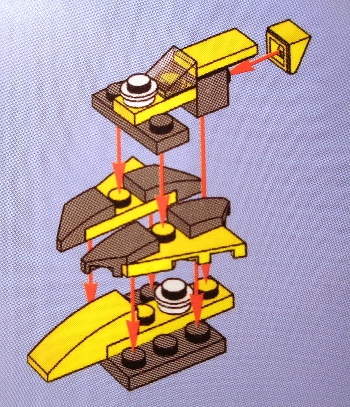 [Bild: LEGO Star Wars Adventskalender 75213. Lucka nr 12]