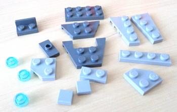 [Bild: LEGO 75245 Lucka 1 innehåll]