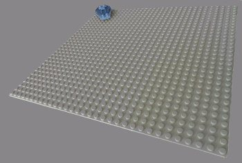 [Bild: LEGO 75245 Lucka 1 på plattan]