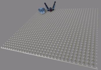 [Bild: LEGO 75245 Lucka 2 på plattan]