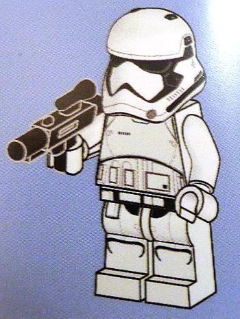 [Bild: LEGO       75245 Lucka 3 byggbeskrivningen]