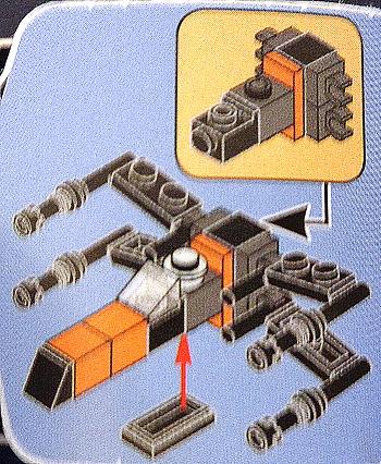 [Bild: LEGO 75245 Lucka 5 byggbeskrivningen]