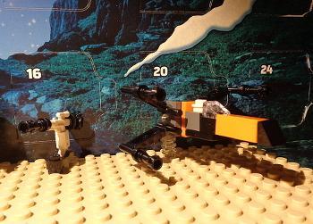 [Bild: LEGO 75245 Lucka 5 på plattan]