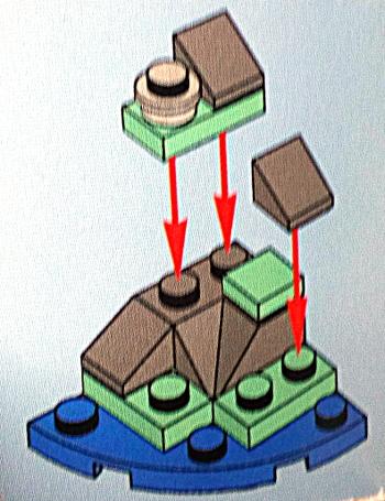 [Bild: LEGO 75245 Lucka 8 byggbeskrivningen]