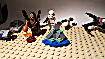 [Bild: LEGO 75245 Lucka 8 på plattan]