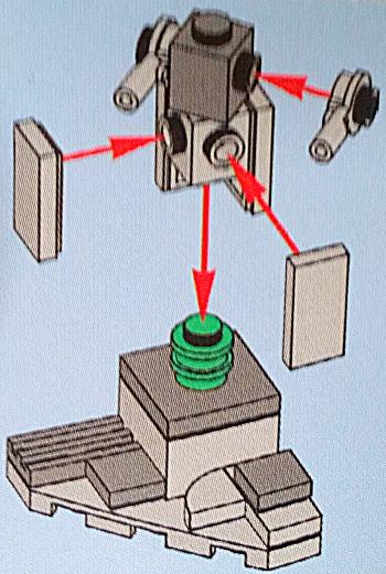 [Bild: LEGO 75245 Lucka 11 byggbeskrivningen]