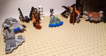 [Bild: LEGO 75245 Lucka 11 på plattan]