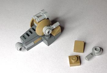 [Bild: LEGO 75245 Lucka 14 Färdig]