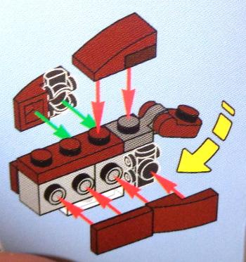 [Bild: LEGO 75245 Lucka 16 byggbeskrivningen]