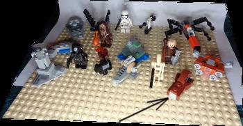 [Bild: LEGO 75245 Lucka 16 på plattan]