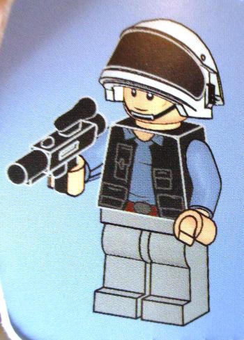 [Bild: LEGO 75245 Lucka 18 byggbeskrivningen]
