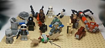 [Bild: LEGO 75245 Lucka 19 på plattan]
