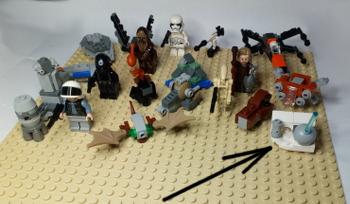 [Bild: LEGO 75245 Lucka 20 på plattan]