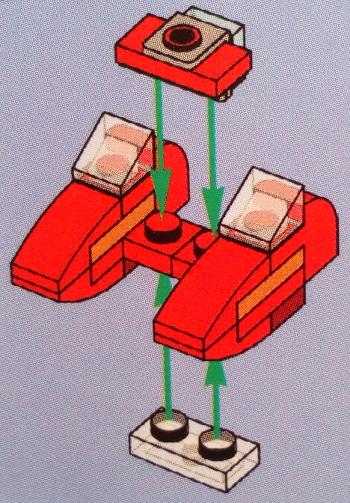 [Bild: LEGO 75245 Lucka 21 byggbeskrivningen]