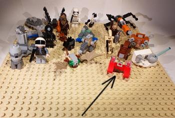 [Bild: LEGO 75245 Lucka 21 på plattan]