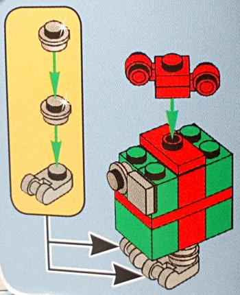 [Bild: LEGO 75245 Lucka 23 byggbeskrivningen]