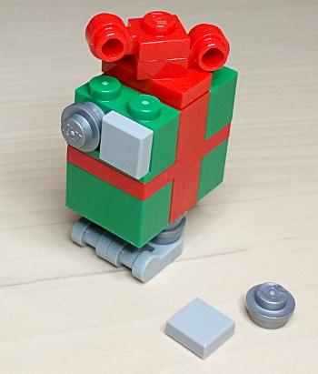 [Bild: LEGO 75245 Lucka 23 Färdig]