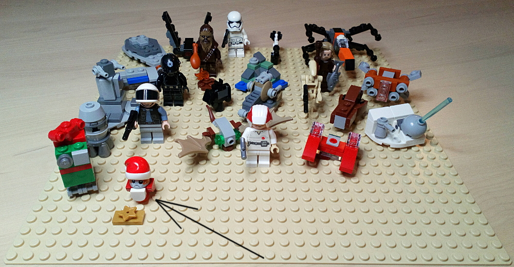 [Bild: LEGO 75245       Lucka 24 på plattan]