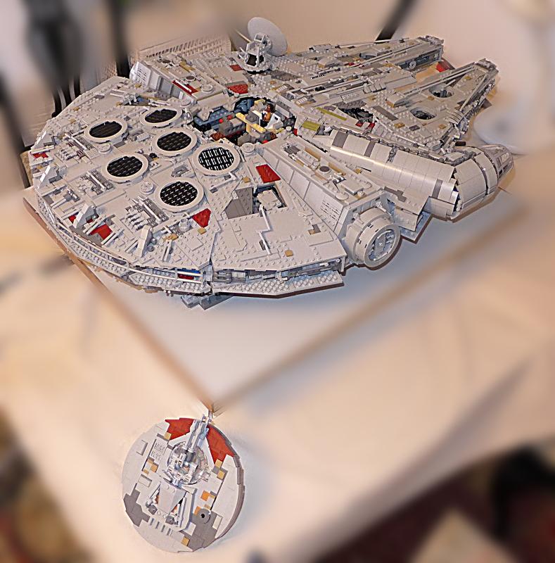 [Bild: LEGO 75192 Finn ska få en plats, en kanonplats]