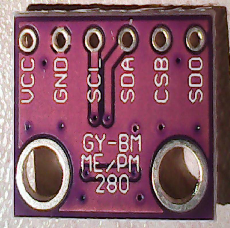 [Bild: Nya BME280-sensorn]