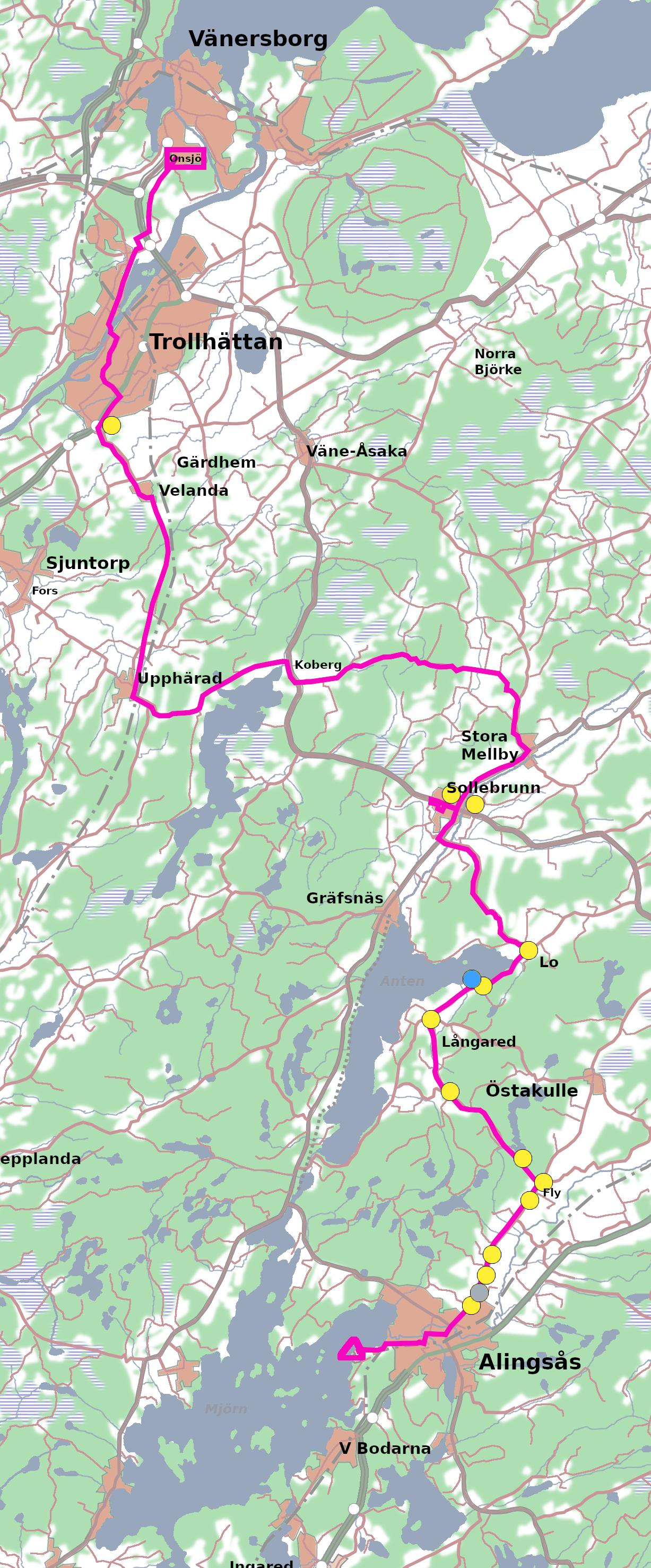 [Bild: Onsjö - Alingsås]